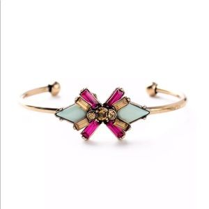 Jewelry - 5 🌟Fave The Stella Crystal Cuff Bangle Bracelet